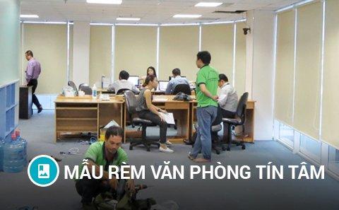 Mẫu rèm văn phòng Tín Tâm