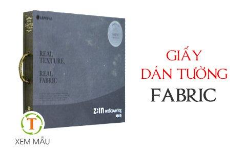 Mẫu giấy dán tường FABRIC
