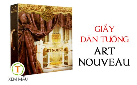 giay-dan-tuong-art-nouveau
